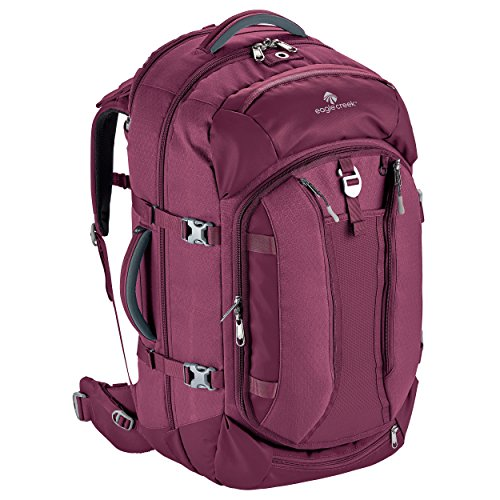 Eagle Creek Global Companion 65L Women's Backpack Travel Water Resistant Mulituse-17in Laptop Suitecase, Concord (Case Concord)
