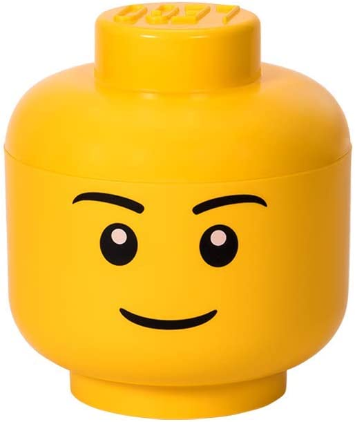 LEGO Head Piece HAPPY MAN Smile Smirk Expression Face Body Part for Minifigure