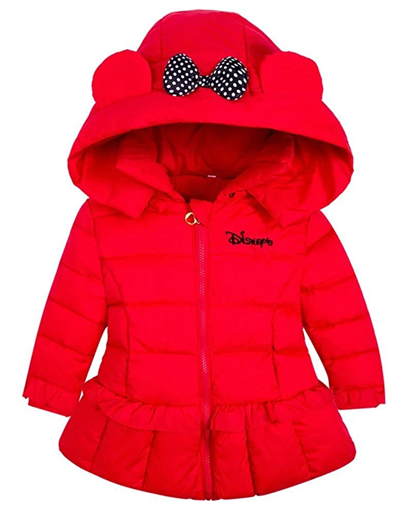 Gxia Little Girl's Hooded Down Coat