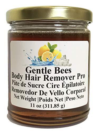 Gentle Bees Body Hair Remover Pro - Sugar Wax Kit 11oz (311.85g) Brazilian wax and bikini wax