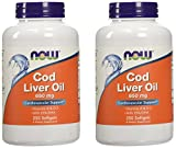 Cheap Now Foods Cod Liver Oil 650 Milligrams – 250 ct (Pack of 2)