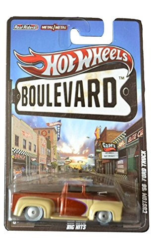 CUSTOM '56 FORD TRUCK * BIG HITS * Hot Wheels 2012 BOULEVARD SERIES 1:64 Scale Die-Cast Vehicle (Hot Wheel Baja Truck compare prices)