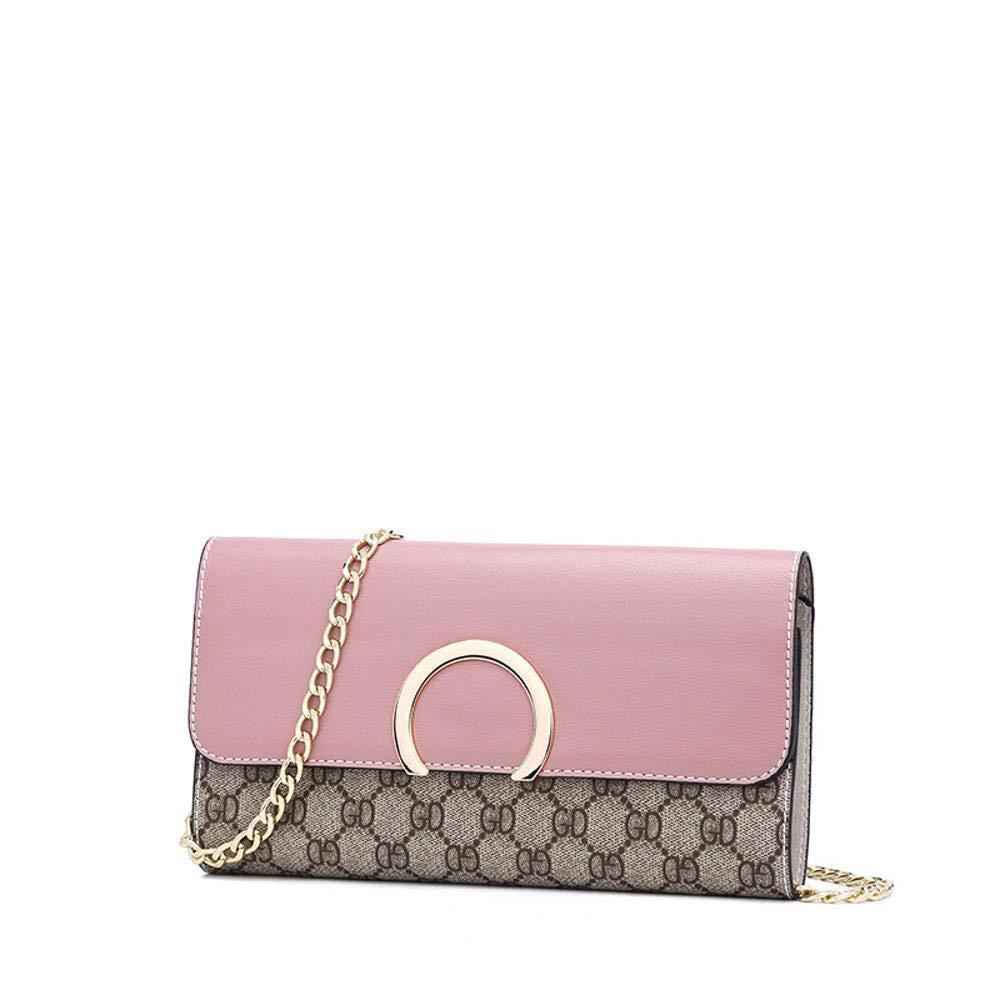 QJKai Trend Single Shoulder Messenger Bag Chain Small Square Bag