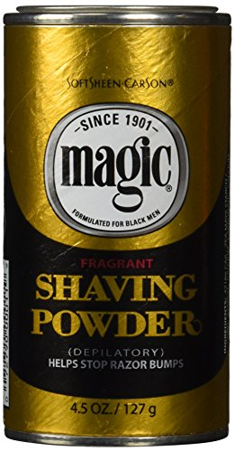 - Magic Shaving Powder Gold 4.5 ounce fragrant