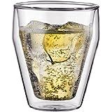 【正規品】 BODUM ボダム TITLIS ティトリス ダブルウォールグラス 250ml 2個セット 10481-10J