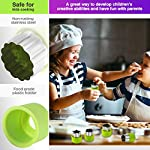 Gimars Large + Small Stainless Steel Cookie & Vegetable & Fruit Cutters Shapes Sets, Mini Cookie Stamp Mold, Sandwich Cutters for Kids Baking, Bento Box and Food Decoration Tools for Kitchen 10 ? 16 PCS 2 Size (8 large : 1.8 in x 2.1 in & 8 small : 1.2 in x 1.65 in.) ¡°One cookie to one kid¡± bite size deep shape mini cookie cutters for choices - The large cookie cutters are perfect to make bite size mini cookie,spritz cookies, decorations for cake, pie crust, gum paste work, craft projects, fondant cutouts,Pastry, mini-tart, etc. The small cookie cutters are great to cut shapes for kids lunch bento box, fruit and vegetable shapes,fruit platter, drinks garnishes etc ? Thicker non rusting stainless steel cookie cutters with fine welding seams to cut food clean without bending or falling apart - Thicker high quality package of food grade stainless steel and plastic silica gel material, not contain BPA. These kids mini cookie cutters are built to last for a long time and does not rust after cleaning. Sturdy and sharp to cut shapes clean with ease. These tiny cookie cutters shapes are very easy to use ? Thicker non rusting stainless steel cookie cutters with fine welding seams to cut food clean without bending or falling apart - Thicker high quality package of food grade stainless steel and plastic silica gel material, not contain BPA. These kids mini cookie cutters are built to last for a long time and does not rust after cleaning. Sturdy and sharp to cut shapes clean with ease. These tiny cookie cutters shapes are very easy to use
