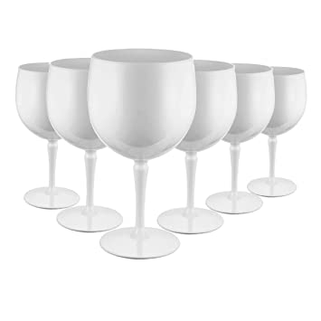 Avenue/'s Ultra Premium Unbreakable Polycarbonate Balloon Gin Glasses