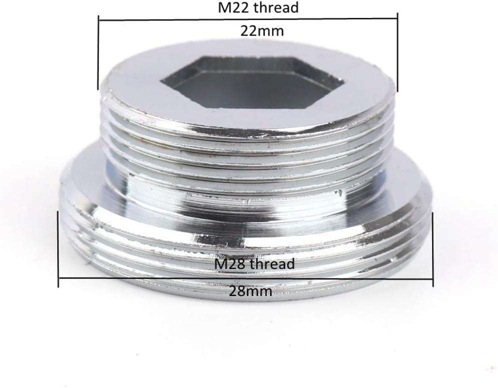 Zotti M28 vers M22 Convertisseur fonctionne avec d/éviateur 2 voies 28 mm Chrom/é
