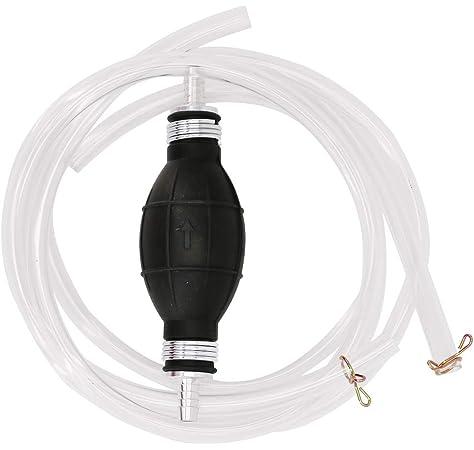 Hand Siphon Syphon Transfer Pump Petrol Diesel Fuel Fish-Tank Oil Water Liqu LU