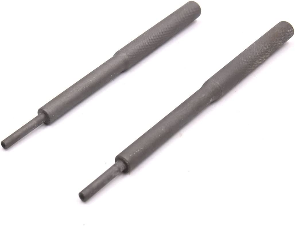 uxcell 2pcs Dark Gray Universal Valve Guide Remover Grinding Stick Lapping Tool for Car