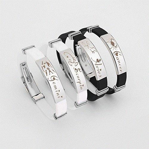 (2018 European and American couple steel bracelet men's jewelry boy girl student sweet ten second-hand jewelry string)