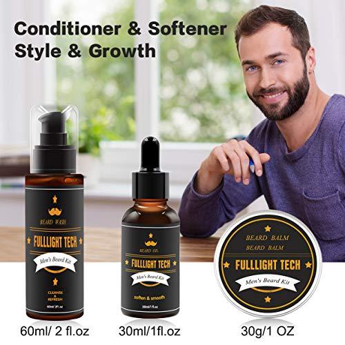 Beard Kit for Men Grooming & Care W/Beard Wash/Sha...