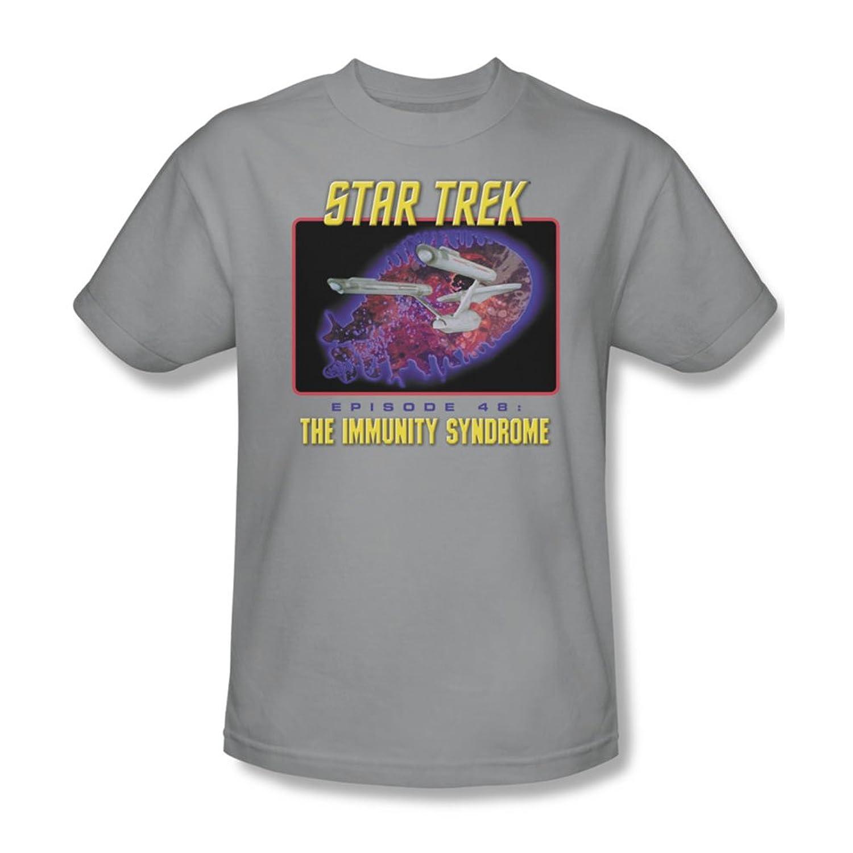 Star Trek - St / Episode 48 Adult T-Shirt In Silver
