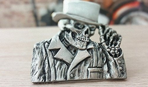 Reaper/ /Pin Top Hat Top Hat Skull Cylinder Death Free Biker Chopper DW0029