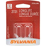 SYLVANIA 2721 Long Life Miniature Bulb, (Pack of 2)