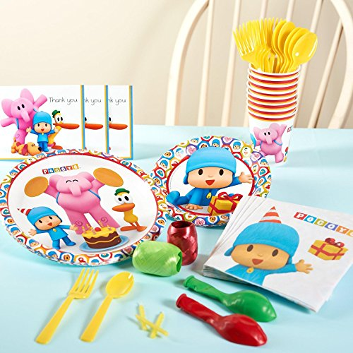 Pocoyo Party Supplies - Basic Party Pack for 16