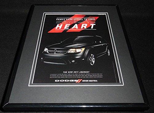 - 2011 Dodge Journey 11x14 Framed ORIGINAL Advertisement