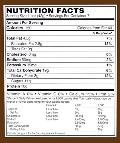 Doctors Best Weight Loss - High Protein Diet Bars - Cinnamon Oatmeal Raisin 7/box