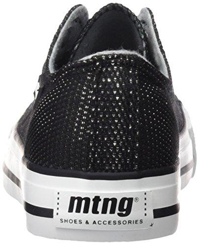 Nero Satin Mtng Negro Donna mesh Sneaker BqpwOE4