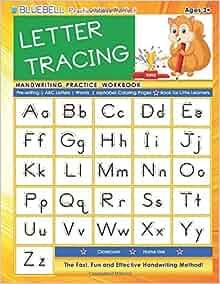 Handwriting Practice Workbook Pre Writing Alphabet product image
