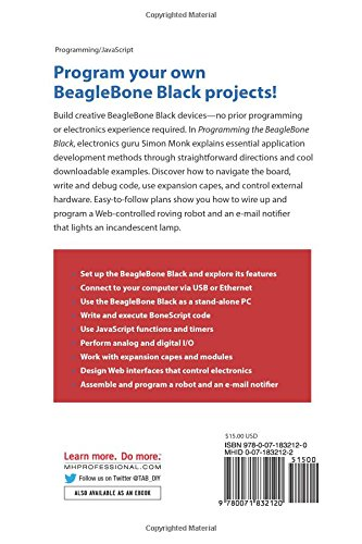 Programming the beaglebone black getting started with javascript programming the beaglebone black getting started with javascript and bonescript livros na amazon brasil 9780071832120 fandeluxe