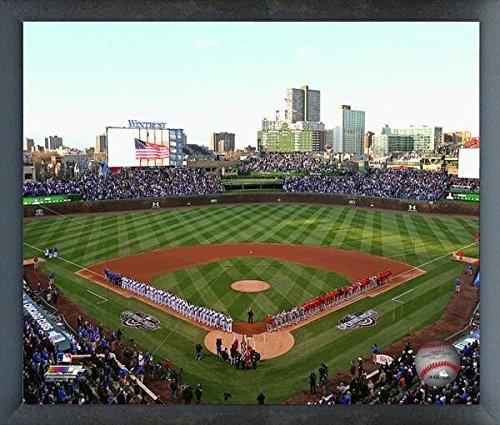 Wrigley Field Chicago Cubs MLB Stadium Photo (Size: 17