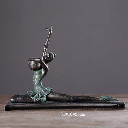 GBX Moderna Gimnasia Yoga Figuras Creación Artesanal Adornos ...