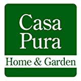 casa pura Carpet Entrance Mat, Gray (Mottled) 24' x 36' | Absorbent, Non-slip, Indoor/Outdoor (Multiple Sizes)