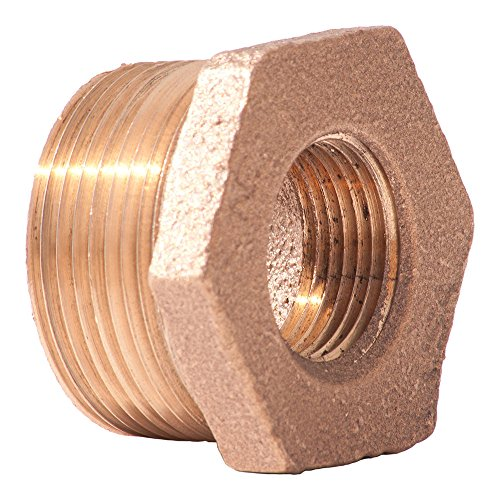 Lead free brass pipe fitting hex bushing class
