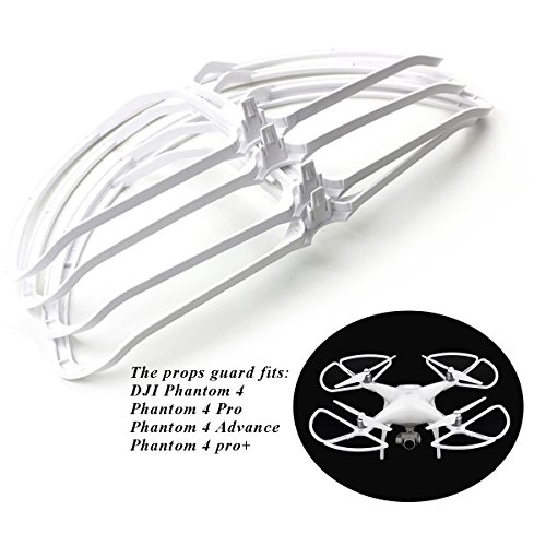 Hobby-Ace Replacement Propeller Guards Prop Compatible for DJI Phantom 4 Drone Guard Protector Shield, Fits Phantom 4 / Pro /Standard / Pro V2.0