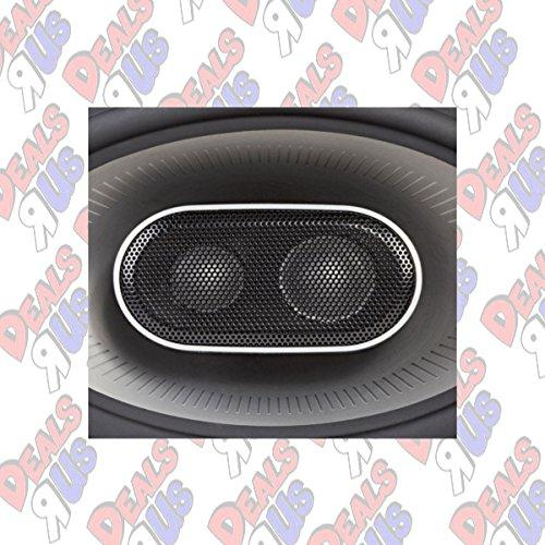 Polk Audio MM1 Series 6x9 Inch 450W Coaxial Marine Boat ATV Car Audio Speakers by Polk Audio (Image #4)