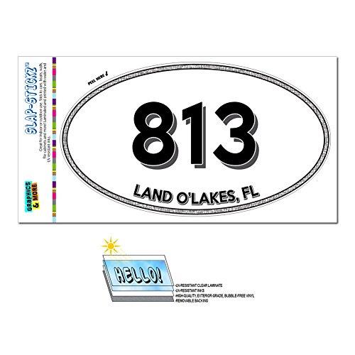 area-code-oval-window-sticker-813-florida-fl-apollo-beach-zephyrhills-land-olakes