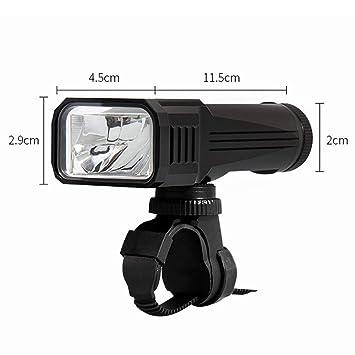 Luces LED para Bicicleta, Juego De Luces Recargables De Bicicleta ...