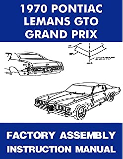 1970 Pontiac LeMans GTO Tempest Grand Prix embly Manual ... on 1970 chevy truck wiring schematic, 1970 plymouth satellite wiring schematic, 1970 buick skylark wiring schematic,