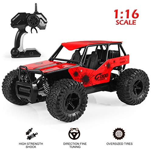 RC Car, 2018 Newest All Terrain High-Speed Off Road Remote Control 1/16 Scale RC Trucks,Best Christmas Gift for Kids and Adult