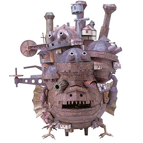 3D 2018 Puzzle Hayao Miyazaki's Howl's Moving Castle Terrestrial Version of 3D Paper Model DIY