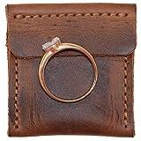 Hide & Drink, Leather Wedding Ring Case, Engagement