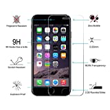 3 Pack- CNXUS Ultra-thin Tempered Glass Screen Protector for iPhone 6S Plus / 6 Plus, Ultra Clear Anti-oil and Fingerprint Film, 3D Touch Compatible, Case Friendly [No Bubbles]