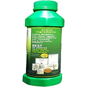 IC Green - Best High Mileage Motor Oil Additive! Makes Old Engines Young Again! Environmentally Friendly Fuel System Cleaner Treatment! Run Smoother Quieter Almost Immediately! Increase Fuel Economy!