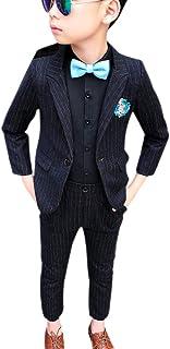 KINDOYO Bambino Ragazzo Abito - Eleganti Cerimonia Bimbo Ragazzo Abbigliamento Matrimonio Blazer E Pantaloni Lunghi