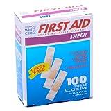 Bandage Junior Size Plastic 3/8 X 1 1/2 100/box