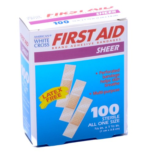 Bandage Junior Size Plastic 3/8 X 1 1/2 100/box