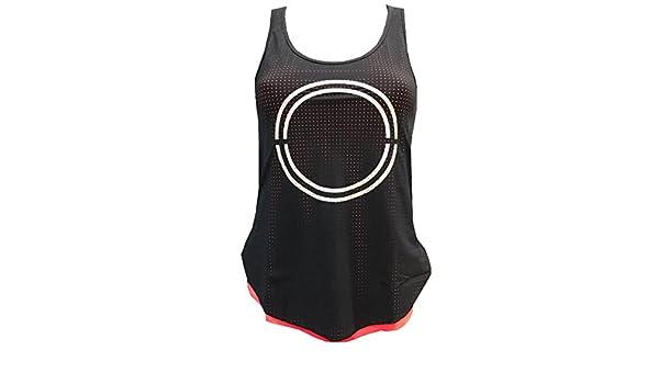Camiseta Padel Neon Mujer Amaranta Afternoon- S: Amazon.es: Deportes y aire libre