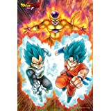 "300-piece jigsaw puzzle DRAGON BALL Z revival of ""F"" super God fierce battle! ! (26x38cm)"