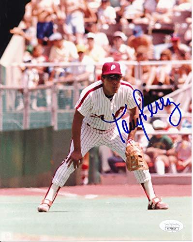 Tony Perez Philadelphia Phillies Signed/Autographed 8x10 Photo JSA 144623