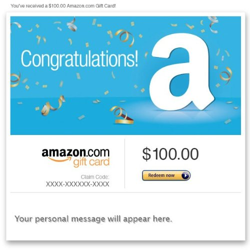 Amazon eGift Card - Congratulations!