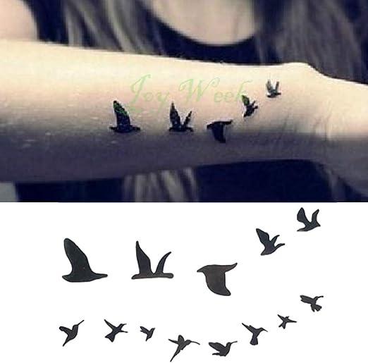 5pcs Impermeable Tatuaje Sticker Mandala pájaro del Arte de Cuerpo ...