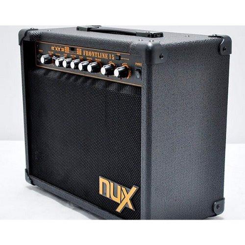 Electric Guitar Amp Online : nux frontline 15 electric guitar amplifier 15 watt clean and distortion buy online in uae ~ Russianpoet.info Haus und Dekorationen