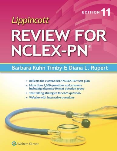 Lippincott Review for NCLEX-PN (Lippincott's State Board Review for Nclex-Pn)