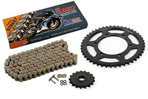 03-05 fits Yamaha R6 YZF-R6 530 Conversion CZ DZO O-Ring Chain & Sprocket 17/46 120L ()
